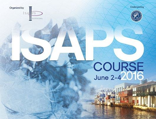 ISAPS course poster